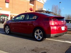 2014 VOLT compact 5 door sedan