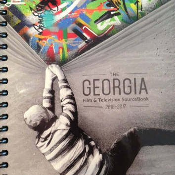 Georgia Film Production Source Book 2016-2017 Cover Art